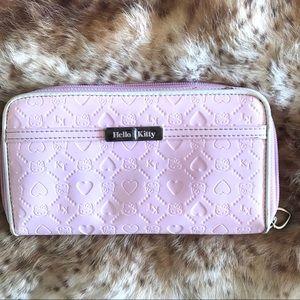 "Pretty Pink Hello Kitty Wallet 7.5"" x 4.25"""